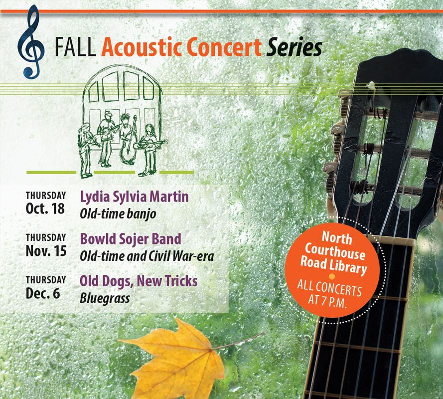 Fall Acoustic Concert Series 2018